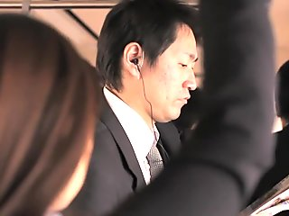Amazing Japanese whore in Exotic MILF, HD JAV video