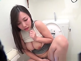 Busty Japanese Ho Pisses
