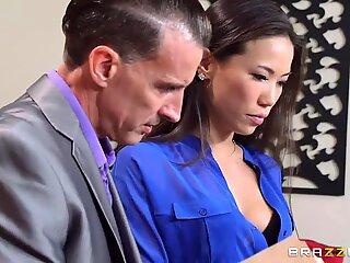 Tony quickly fucks her hottest employee