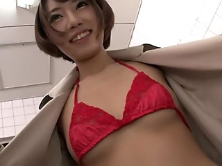 Best Japanese chick in Crazy HD, Masturbation JAV movie