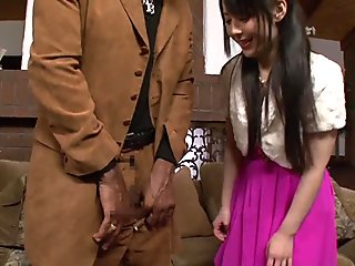 Ruka Kanae Black Threesome