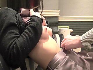 Exotic amateur JAV Uncensored porn clip