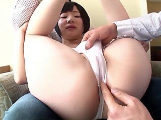 Crazy Japanese slut in Incredible Small Tits, Teens JAV video